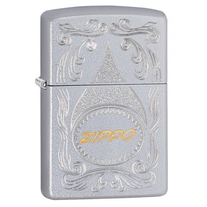 20425 Zippo Gold Script