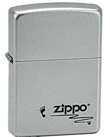 20130 Zippo Footprints