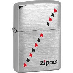 21652 Zippo Flames Diagonal