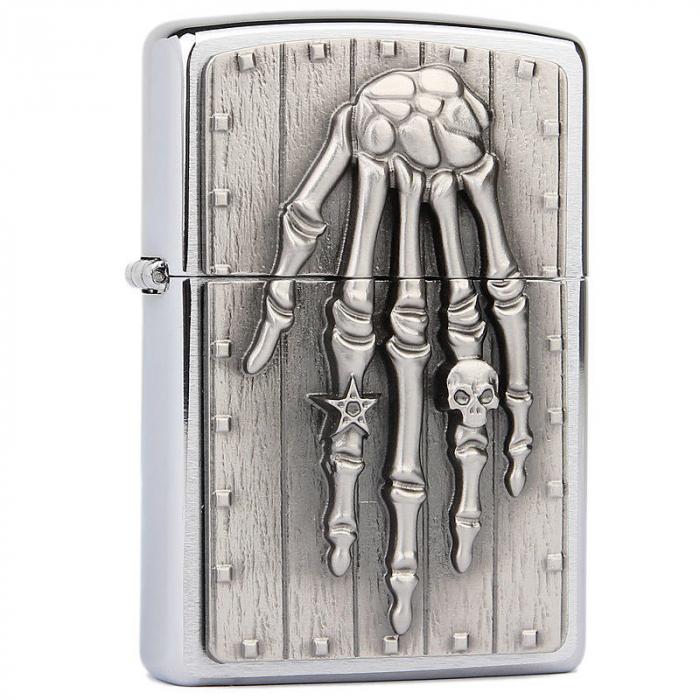 21658 Skeleton Hand Emblem