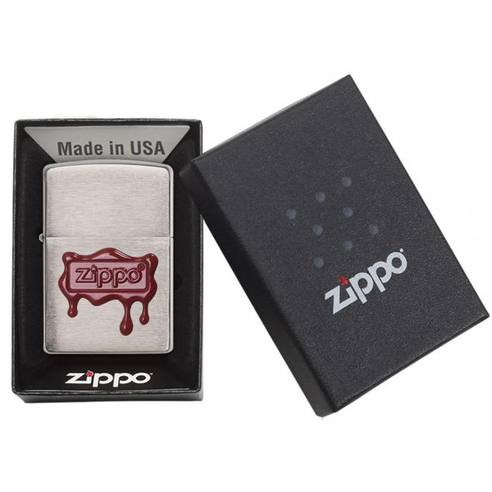 21891 Zippo Red Wax Seal