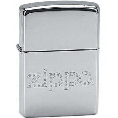22533 Zippo With Diamonds