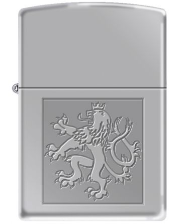 22650 Czech Lion in Square
