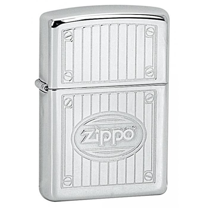 22680 Zippo Full Metal Panel