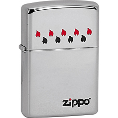 22726 Zippo Flames Horizontal
