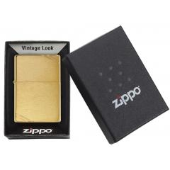 23002 Brushed Brass Vintage with Slashes