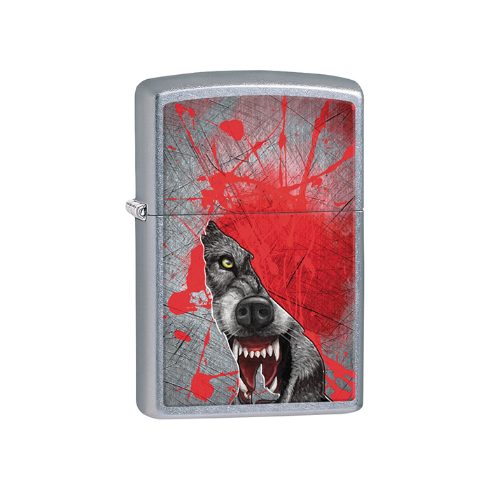 25009 Grunge Howling Wolf