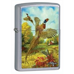 25280 Pheasants Red Barn