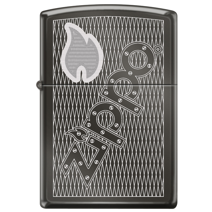 25443 Zippo Flame and Fence