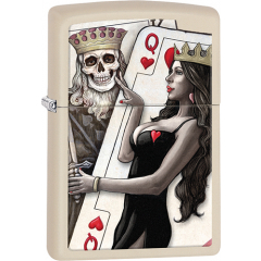 26008 Skull King and Queen Beauty
