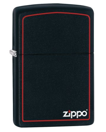 26117 Black Matte with Zippo & Border