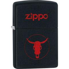 26666 Zippo Longhorn