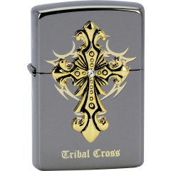 28160 Tribal Cross Emblem