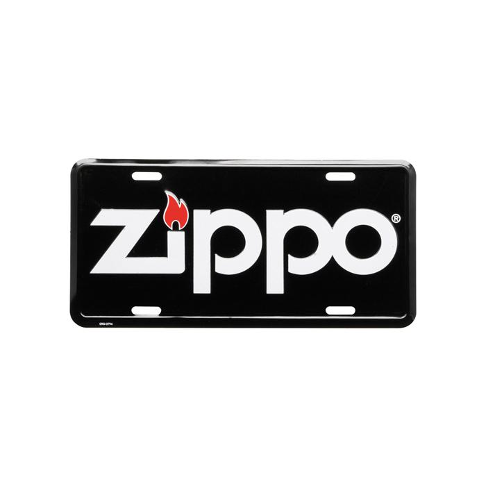 99510 Zippo License Plate