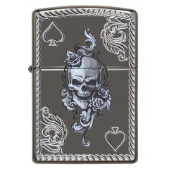 25498 Spade & Skull Design