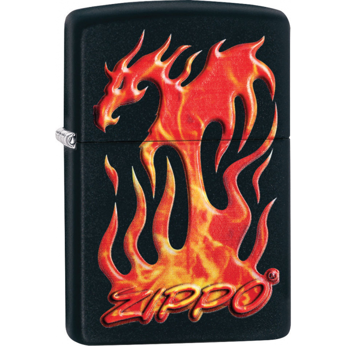 26845 Zippo Flaming Dragon Design
