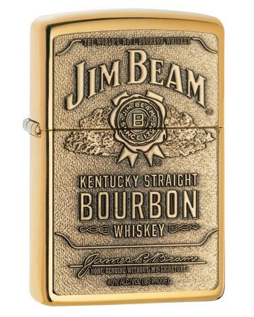 23156 Jim Beam® Brass Emblem