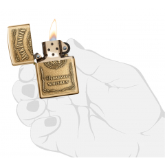 24146 Jack Daniel's® Label - Brass Emblem