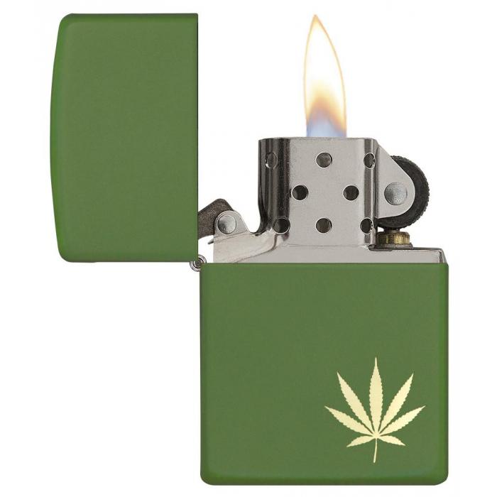 26834 Marijuana Leaf on the Side