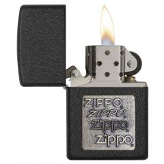26080 Zippo Brass Emblem