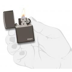 25080 Black Ice® Zippo Logo