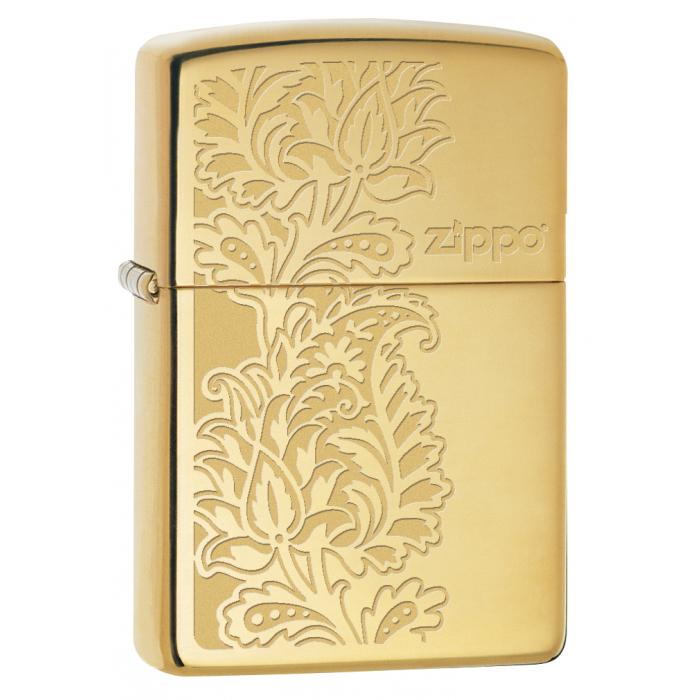 24195 Paisley Zippo Design