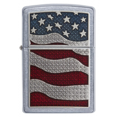 25483 Diamond Plate Flag