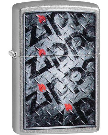 25511 Diamond Plate Zippos