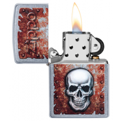 25512 Rusted Skull Design
