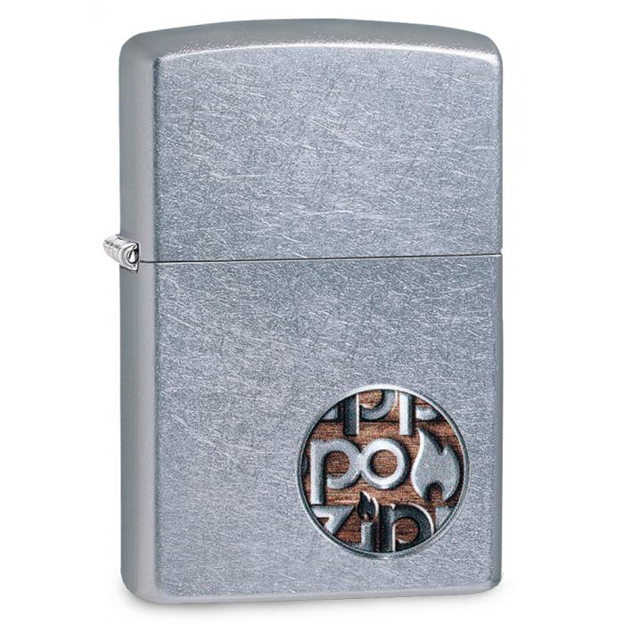 25513 Zippo Button Logo