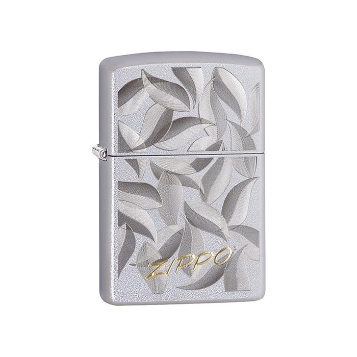 20436 Zippo Leaf Design