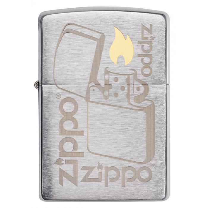 21908 Zippo Lighter Logo