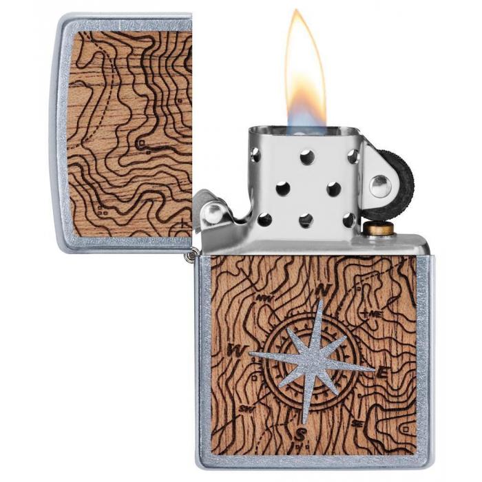 25522 Woodchuck USA Compass