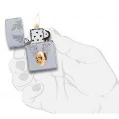 20443 Gold Skull Design