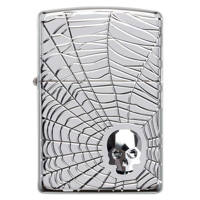 22070 Spider Web Skull Design