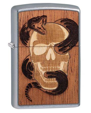 25527 Woodchuck USA Skull & Snake