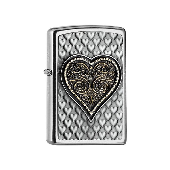 25542 Heart Emblem 3D