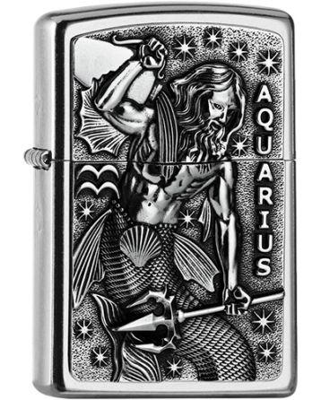 25556 Aquarius Zodiac Emblem