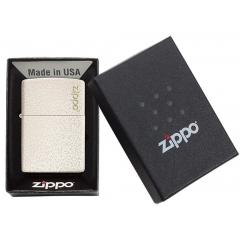26906 Mercury Glass Zippo Logo