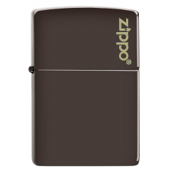 26911 Brown Zippo Logo
