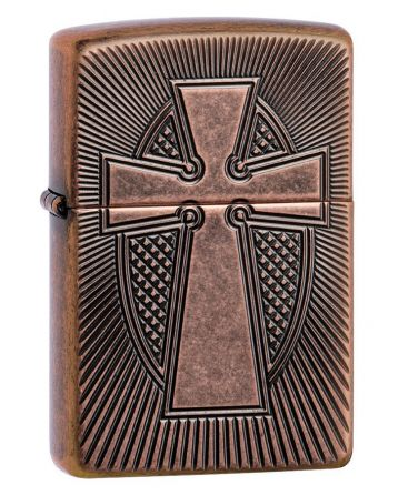 27163 Deep Carve Cross Design