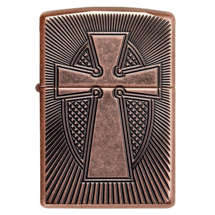 27163 Deep Carve Cross Design