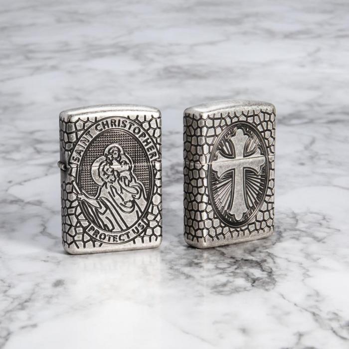 27164 St. Christopher Medal Design