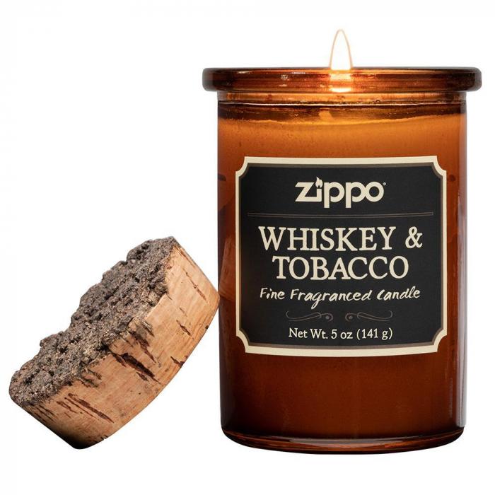 47050A Zippo svíce - Whiskey & Tobacco