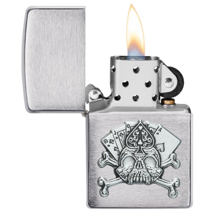 21937 Card Skull Emblem