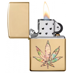 24204 Pot Leaf Fusion Design