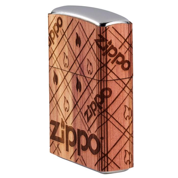 25574 Zippo Cedar Wrap