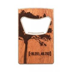 30059 Sada Zapalovač WOODCHUCK USA  & Otvírák na lahve
