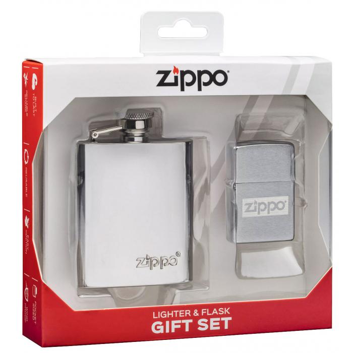 30062 Sada placatka & Zippo zapalovač