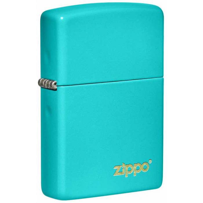 26952 Flat Turquoise Zippo Logo